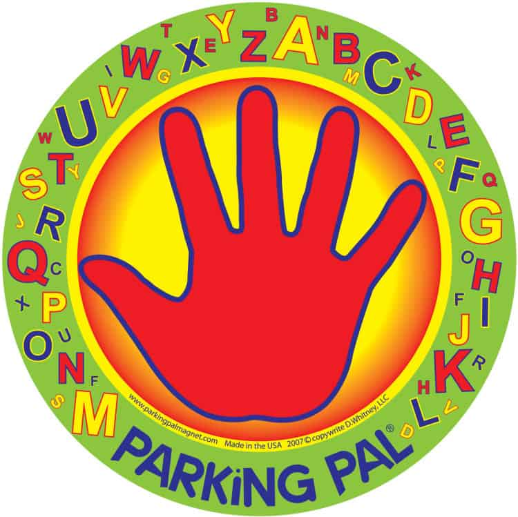 Giveaway Winner- Parking Pal Magnet