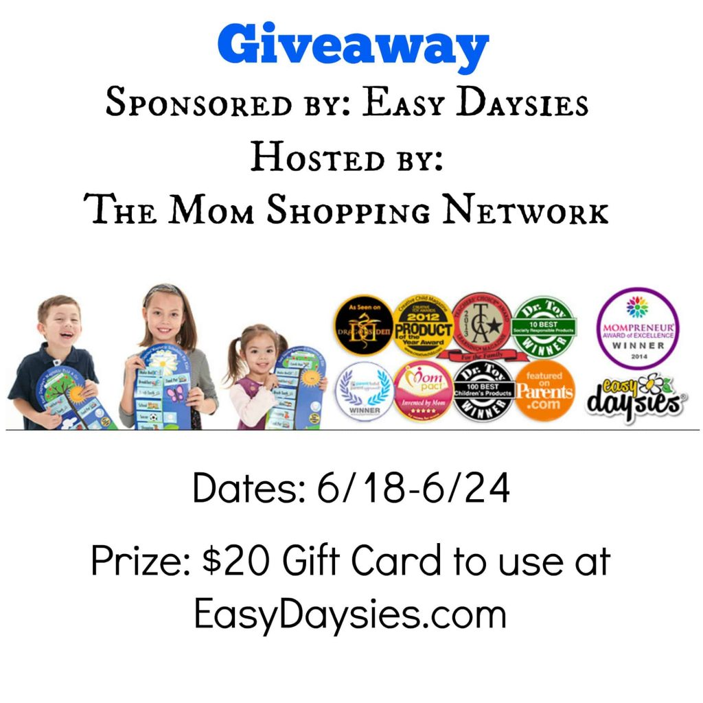 Giveaway- Easy Daysies