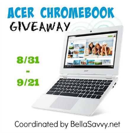 Giveaway- Acer Chromebook