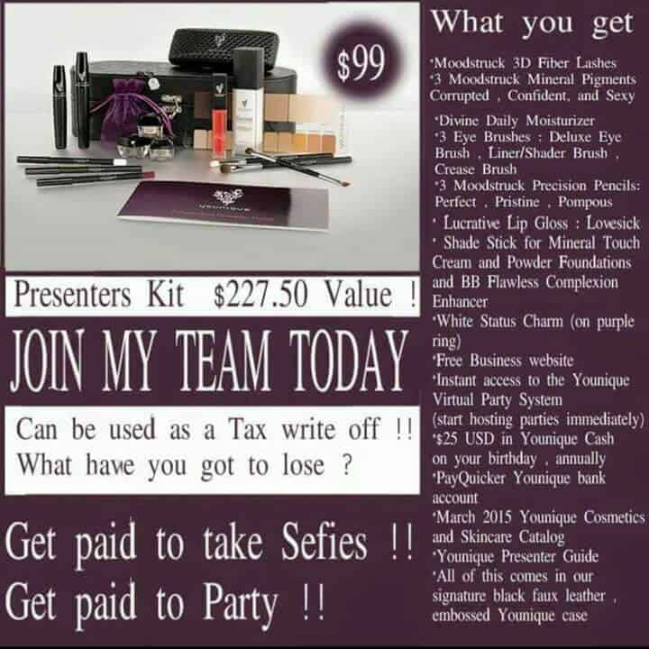 A Younique Work From Home Opportunity