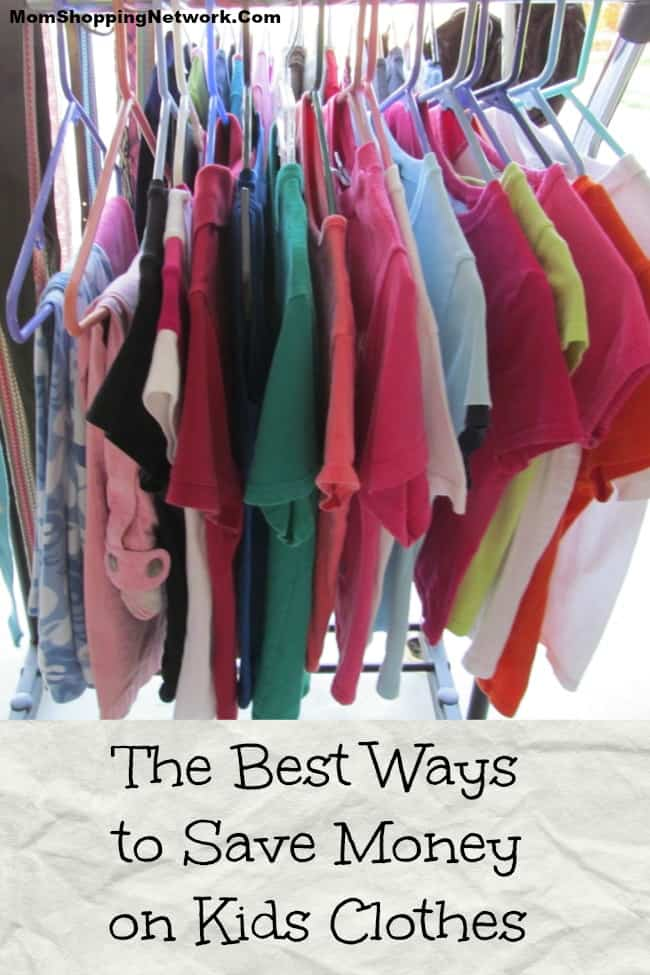 The Best Ways to Save Money on Kids Clothes