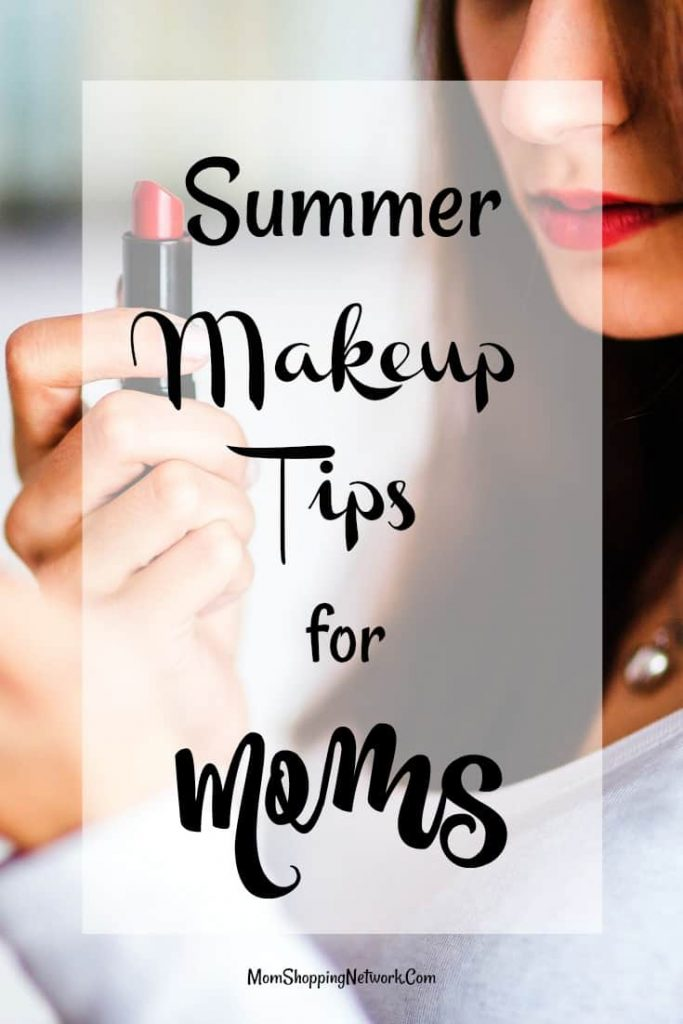 These are the best summer makeup tips for moms! Summer makeup|gym makeup|sweatproof makeup|makeup for women who sweat|summer makeup tips|makeup when it's hot out