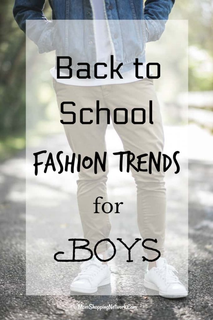 These back to school fashion trends for boys will help you tackle back to school shopping with your guy! Back to school back to school fashion back to school trends fashion trends Fashion trends for boys back to school shopping with boys