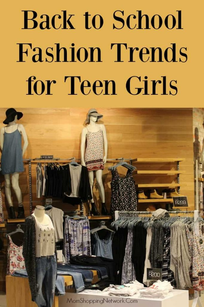 Back to School Fashion Trends for Teen Girls