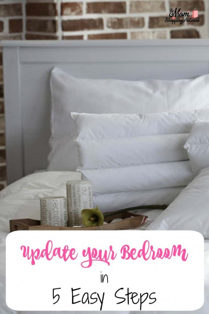 You can update your bedroom in 5 easy steps, let me show you how! Update Your Bedroom Home Decor Bedroom Decor Master Bedroom Decor bedroom decoration ideas Master bedroom ideas