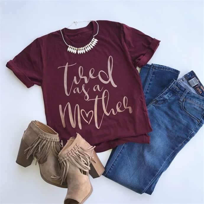 Love these mom t-shirts from Jane.com! mom fashion|mom t-shirt|mom tees|back to school fashion for moms