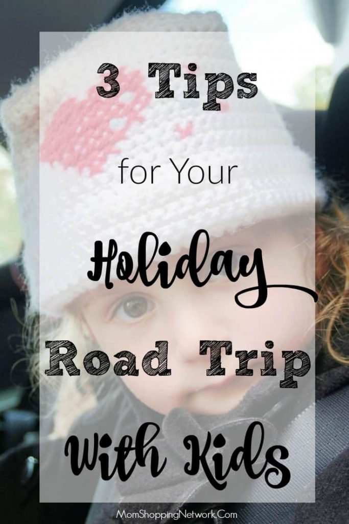 If you're planning a road trip with kids this holiday season, you definitely want to check out these tips!