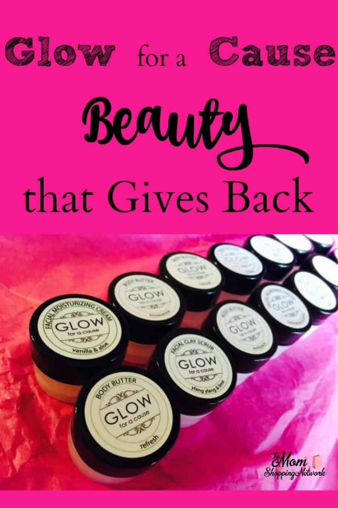 I love using beauty and skincare products that give back! Glow for a Cause donates to non-profits with every purchase, now that's something I can feel good about buying!