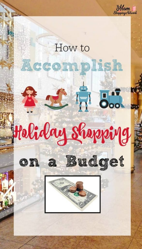 These tips for holiday shopping on a budget really work!