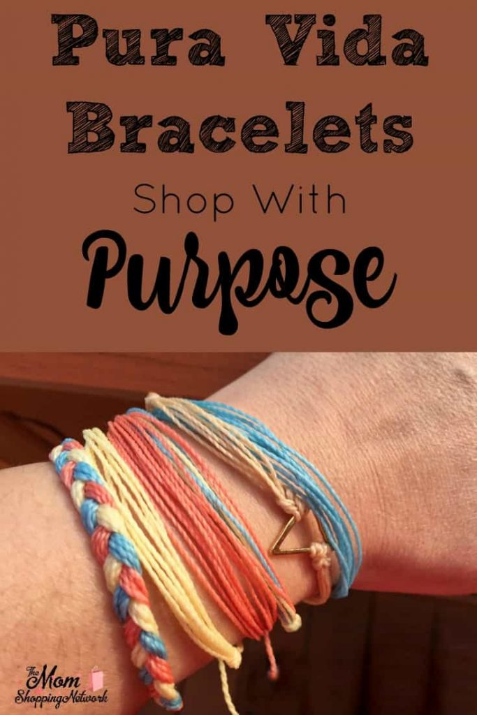 Shop with a purpose! With Pura Vida, get gorgeous bracelets and give back, it's a win-win!