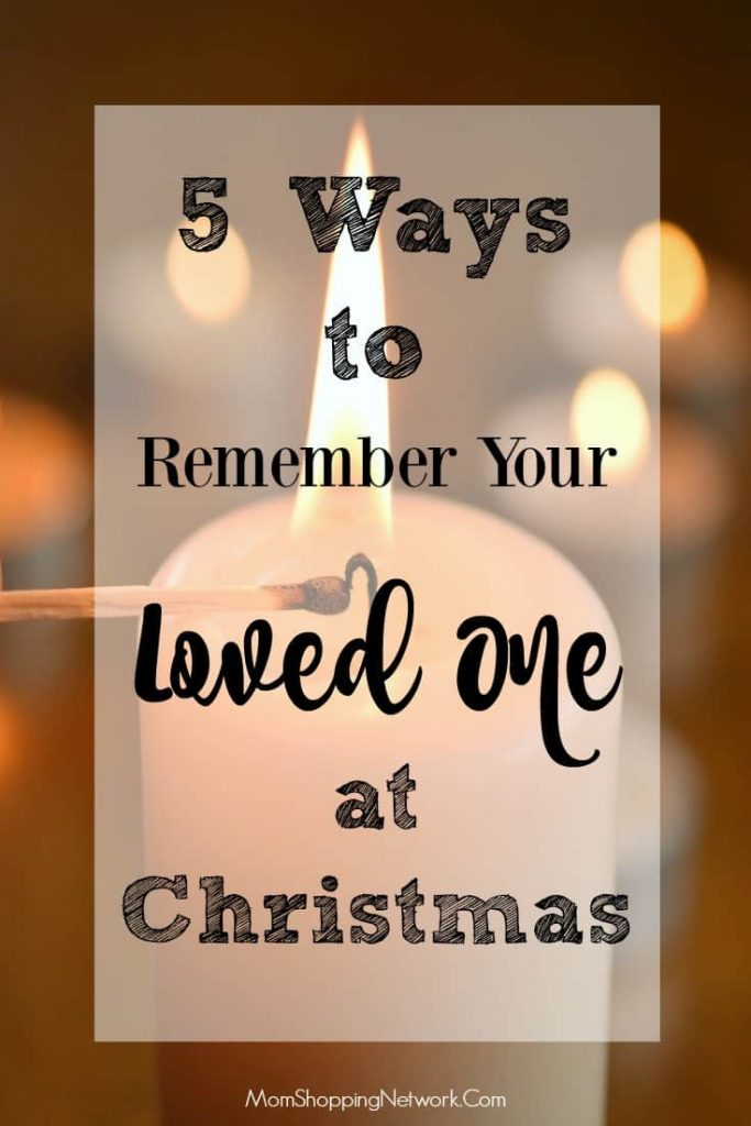 If you've lost a loved one, the holidays can be tough. Here are ways to remember your loved one at Christmas that really help me.