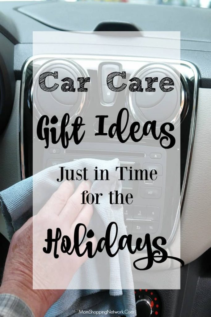 How about practical, car care gift ideas for the holidays? Sounds good to me!