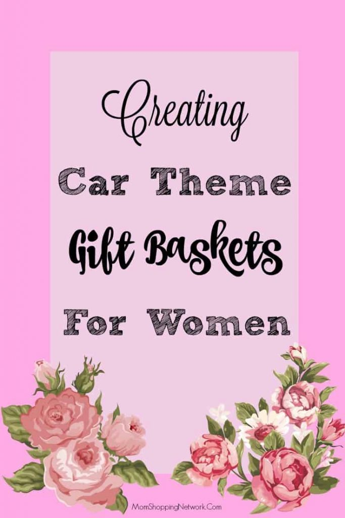 These car theme gift baskets are a great idea for Christmas or anytime!