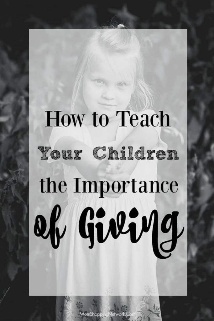 There are many ways to teach your children the importance of giving. These tips are really great!