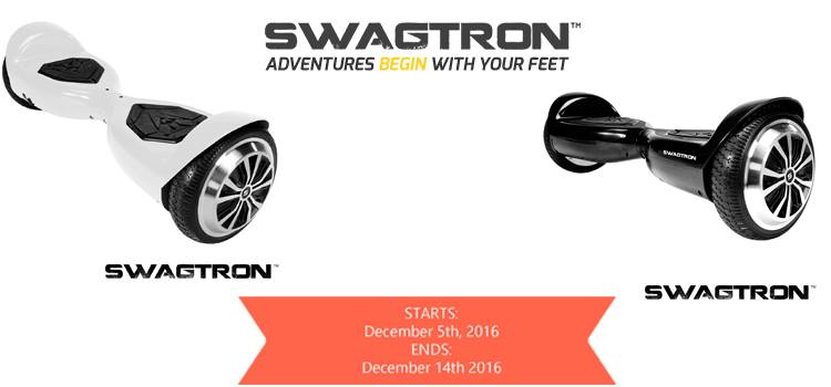 Giveaway- Swagtron T5 Hoverboard