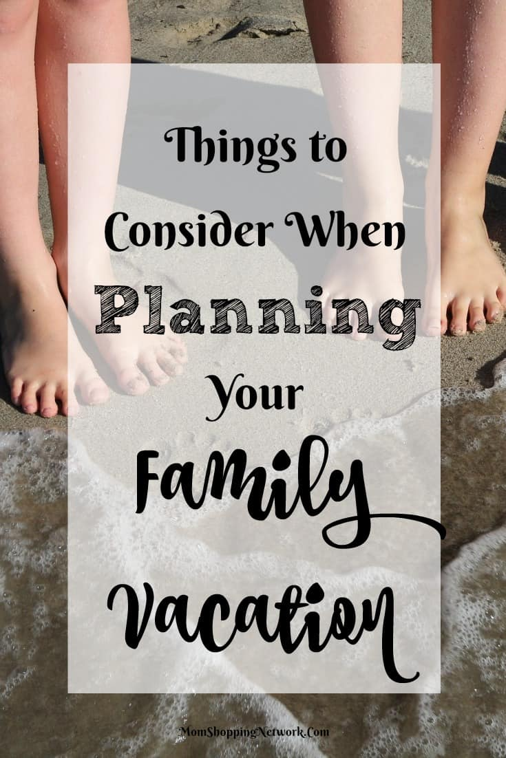 Very important tips for planning a family vacation, so glad I found these!