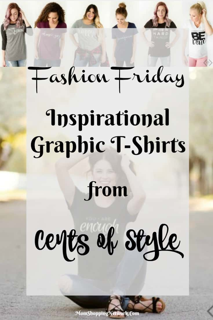 These Inspirational T-Shirts from Cents of Style are just my style, love them!