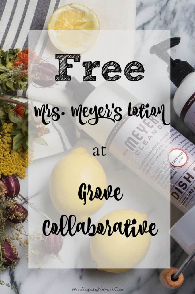 So glad I found this post, now I can get products I love like Mrs. Meyer's dish soap, hand soap, and lotion for FREE!