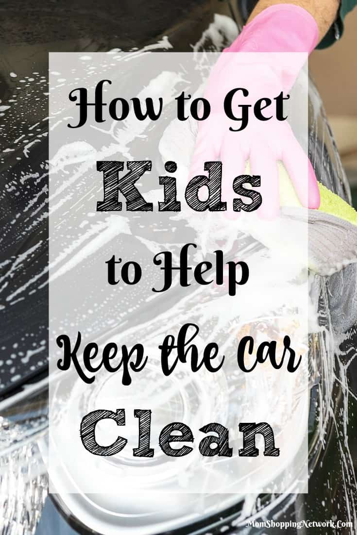 Finally, a way to get your kids to help keep the car clean! l LOVE this!