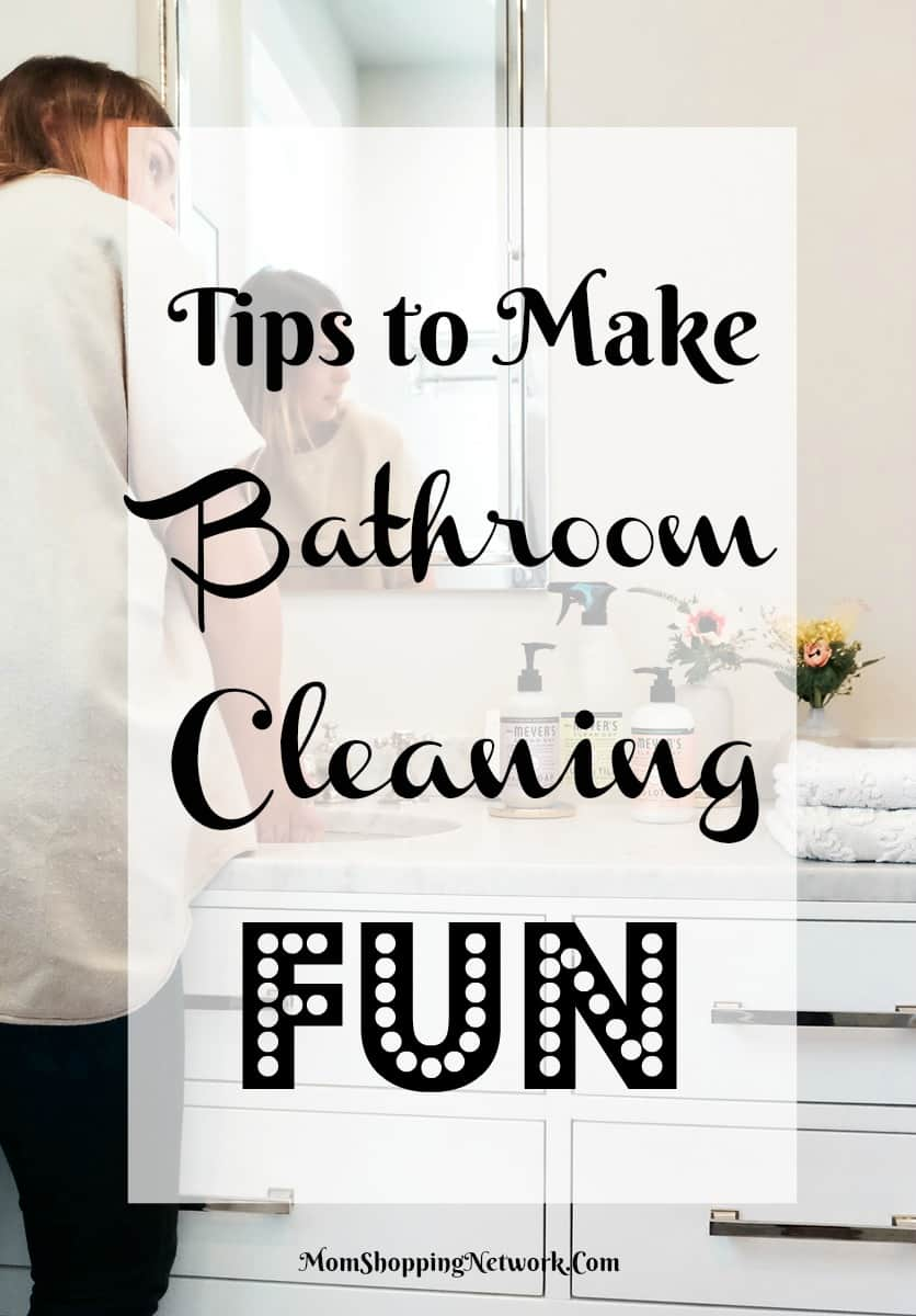 Who knew cleaning the bathroom could be fun? Glad I found these tips!