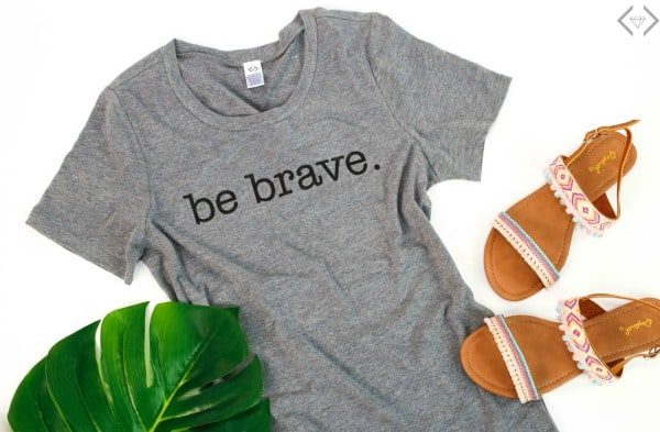 Be Brave- A Fashion Friday Story