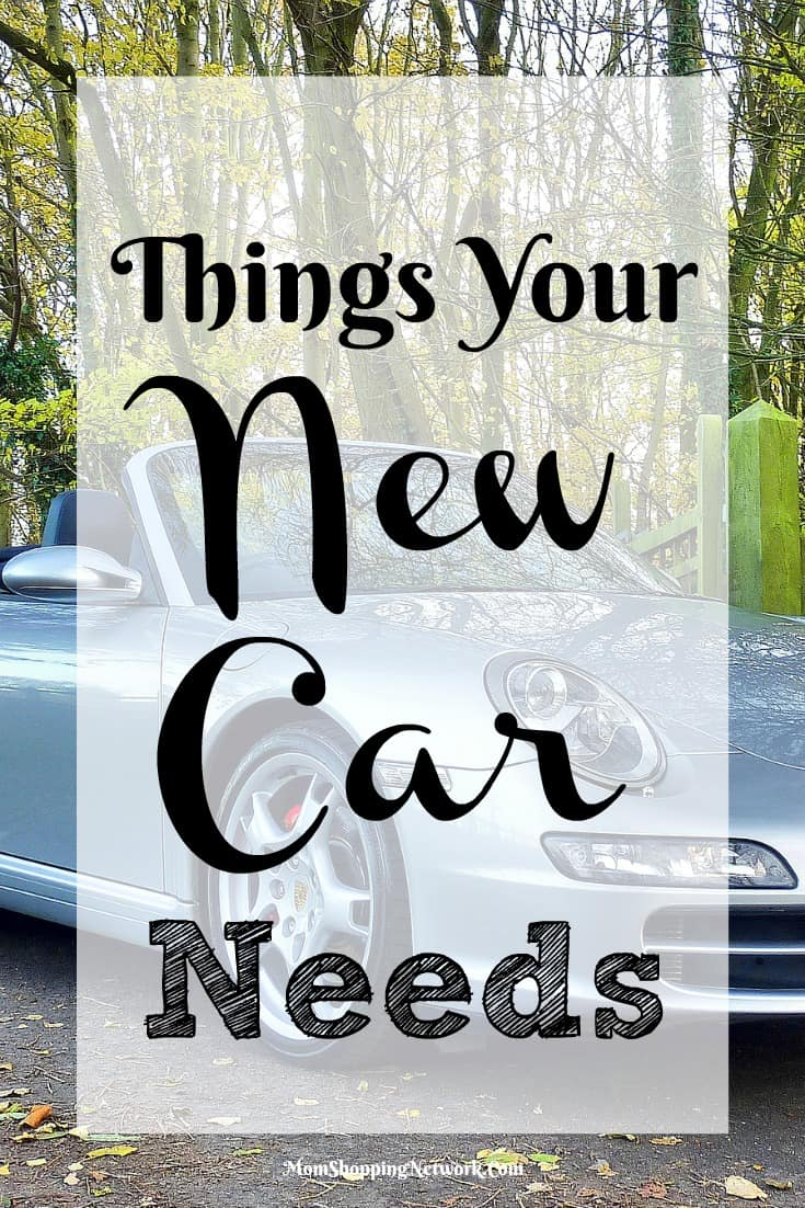 If you're considering buying a new car, you definitely want to check out these things your new car needs!