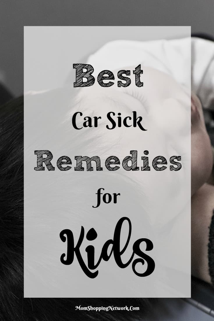 Sometime kids do get carsick. These are the best car sick remedies I've seen in awhile!