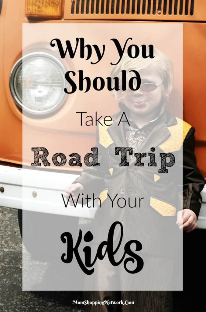 I never thought about these reasons why you should take a road trip with your kids, but they really make sense!