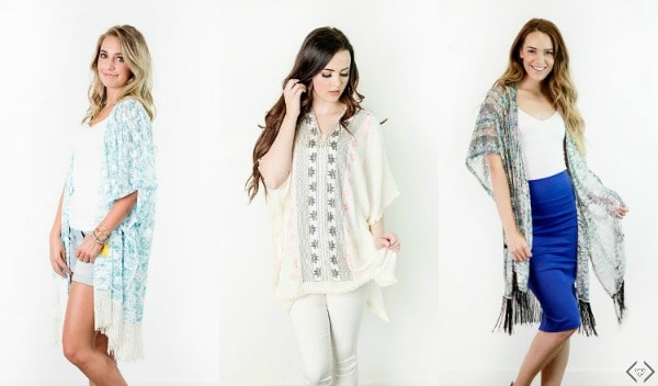 I can't believe these Kimonos are less than $10! Get yours before they're gone!