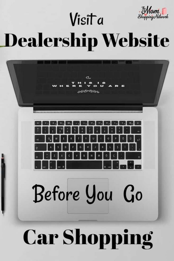 Who would have thought you could actually save time and money by visiting a dealership website before you go car shopping?!
