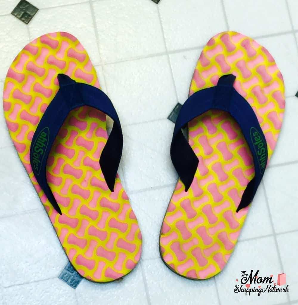 These are the most comfortable flip flops you'll ever wear, no joke!
