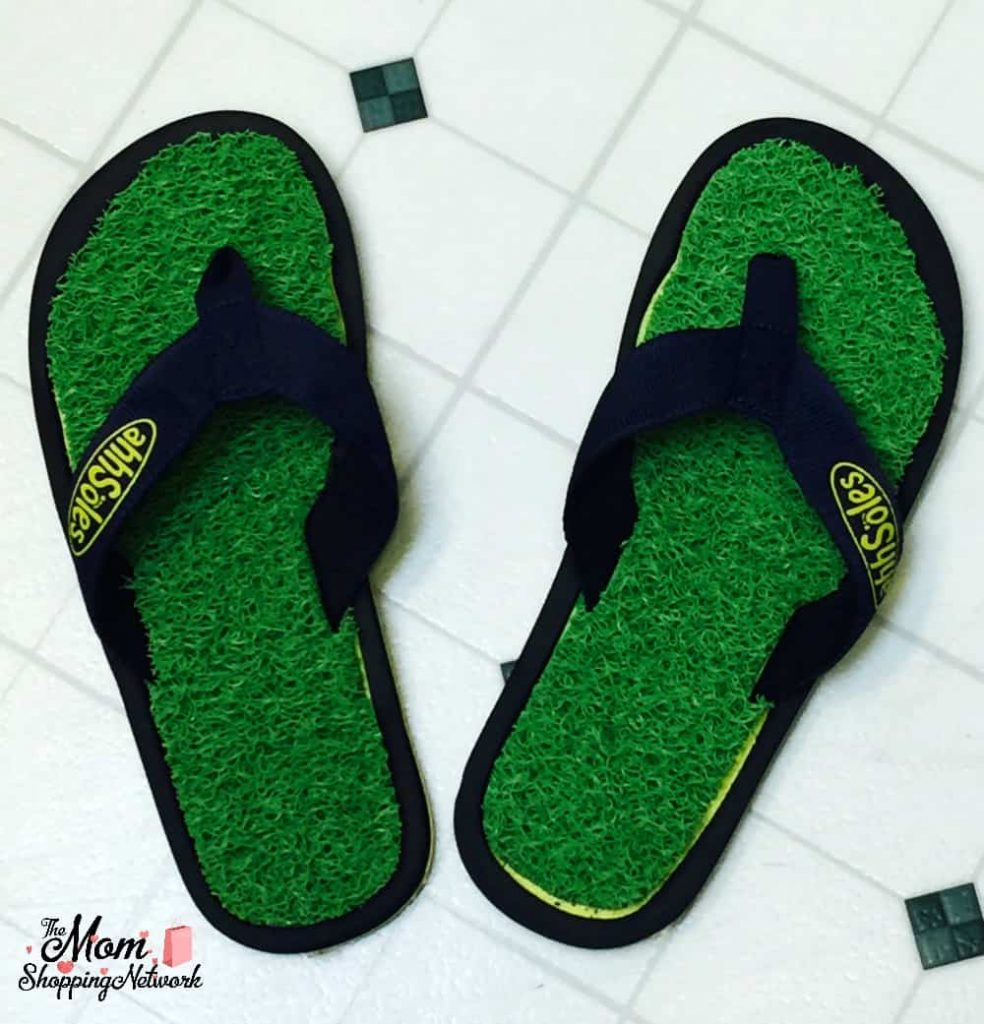 These textured flip flops will give your feet a massage, you have to try them for yourself!