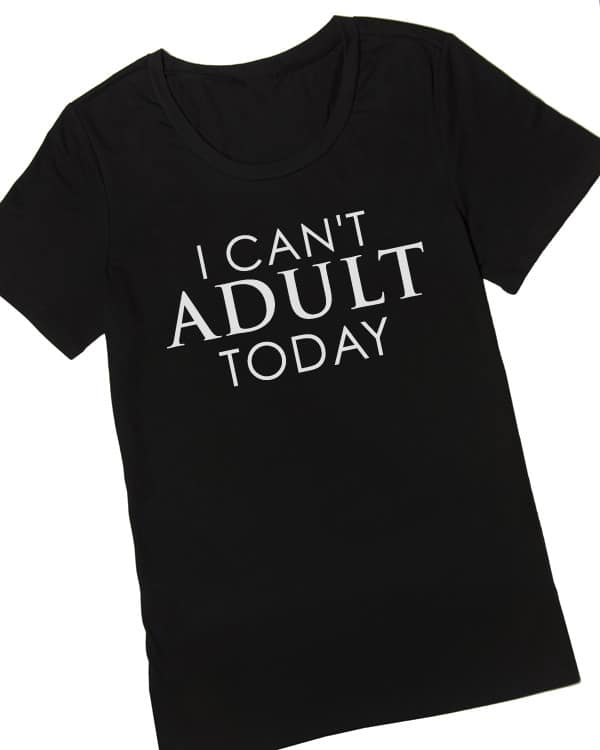 This plus size t-shirt from Cents of Style sums up my feelings most days!