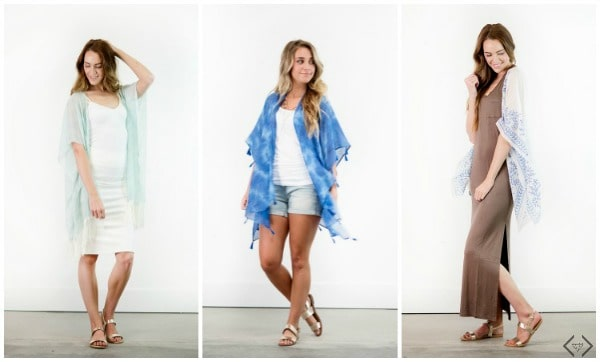 New Kimonos on sale at Cents of Style, just in time for summer! Summer Fashion|Kimonos|Cover Up