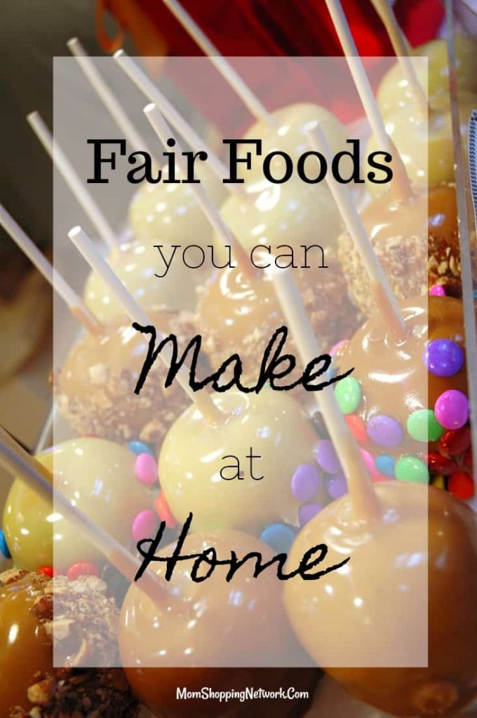 Who knew you could make these mouth watering fair food recipes at home? YUMMY! Fair Food|State Fair Foods|County Fair Foods|Recipes|New foods to try