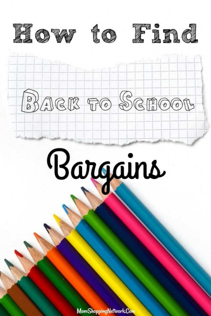 Great tips on How to Find the Best Back to School Bargains. glad I found these! Back to school|back to school tips|back to school bargains|back to school shopping