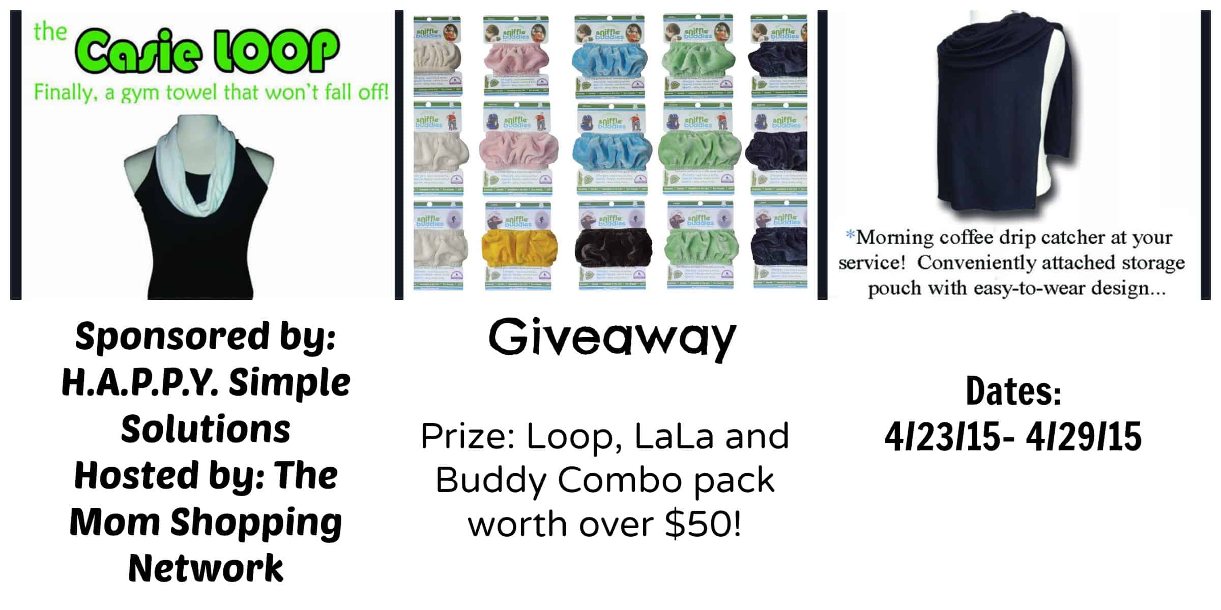 Giveaway- Loop, LaLa and Buddy Combo Pack