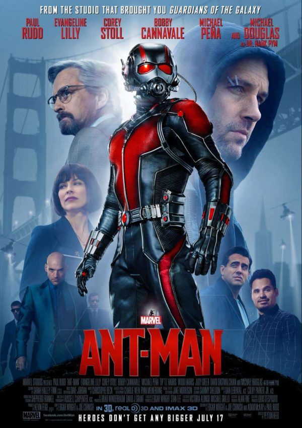Marvel's Ant-Man Opens In Theaters Friday!