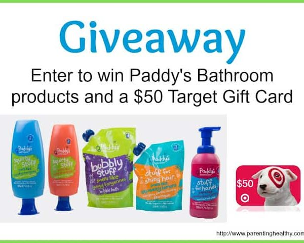 Giveaway- Paddy's Bathroom Products