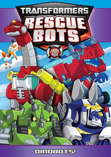 TRANSFORMERS RESCUE BOTS- Dinobots