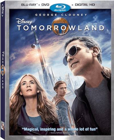 Own Disney's Tomorrowland on October 13th