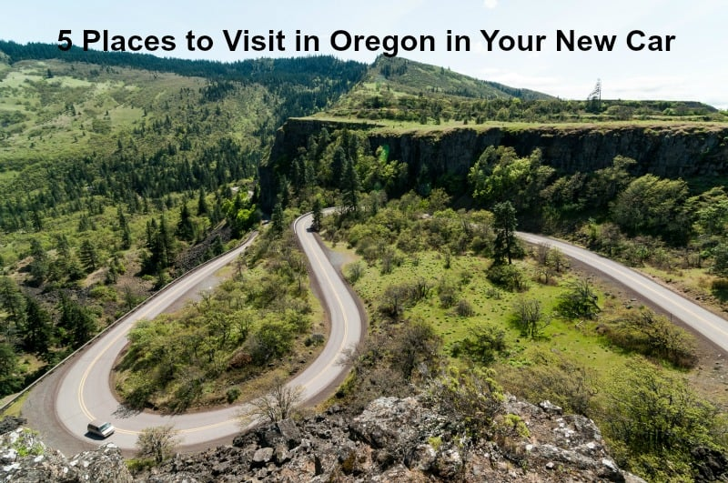 5 Places to Visit in Oregon in Your New Car
