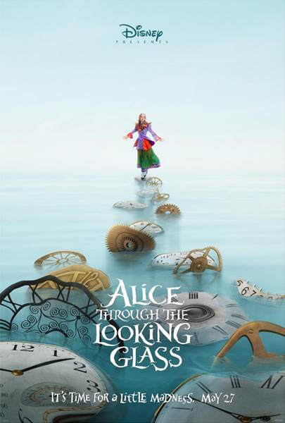 New Alice Through The Looking Glass Trailer