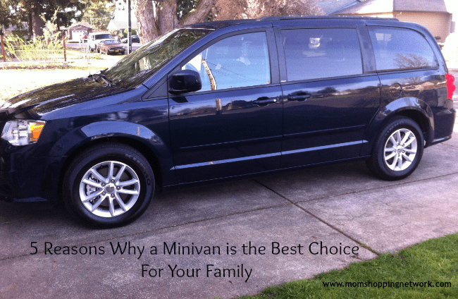 5 Reasons Why a Minivan is the Best Choice For Your Family