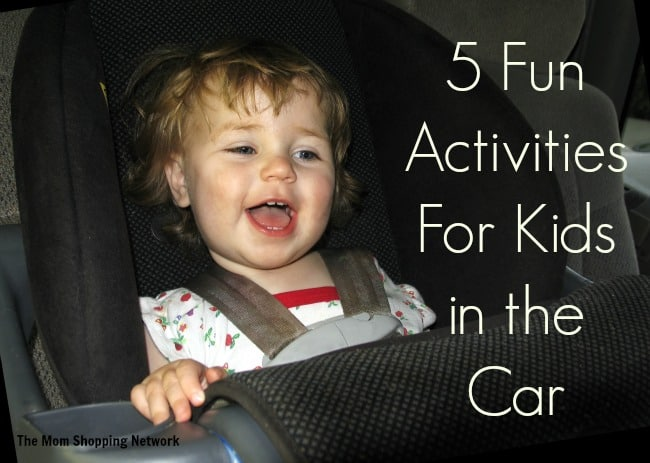 5 Fun Activities For Kids in the Car