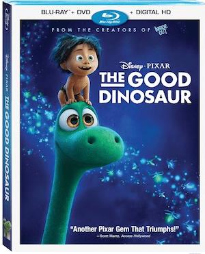 The Good Dinosaur From Disney-Pixar- On Blu-Ray February 23