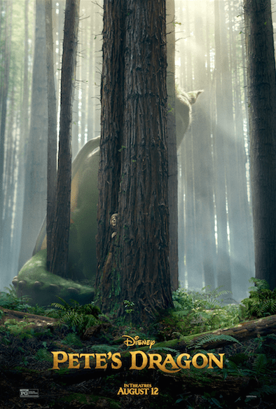 Disney's Pete's Dragon- New Poster Now Available