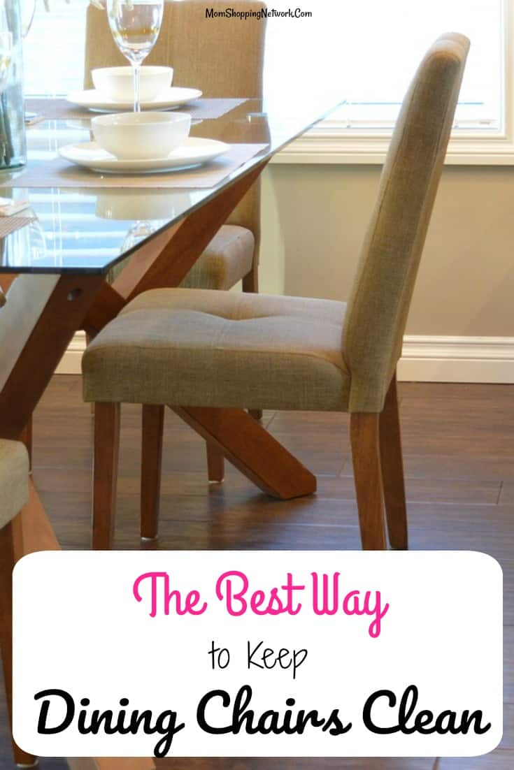 The Best Way To Keep Your Dining Chairs Clean The Mom