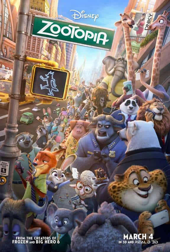 Disney's ZOOTOPIA Coloring Pages For Kids