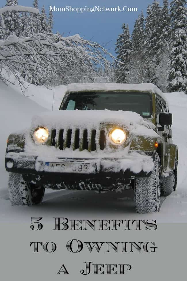 5 Benefits to Owning a Jeep